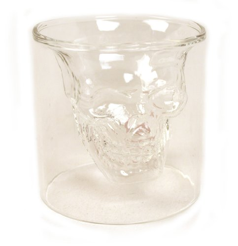 Leegoal Crystal Skull Pirate Shot Glass Drink Cocktail Beer Cup