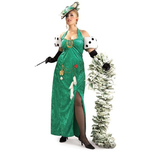 Lady Luck Adult Plus Costume - 16-20