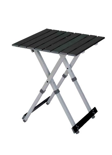 Gci Outdoor Compact Camp 20 Table, Black Chrome front-525056