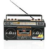 Quantum FX Cassette Recorder With USB SD MP3 Player AM FM Radio - Quantum FX J21U