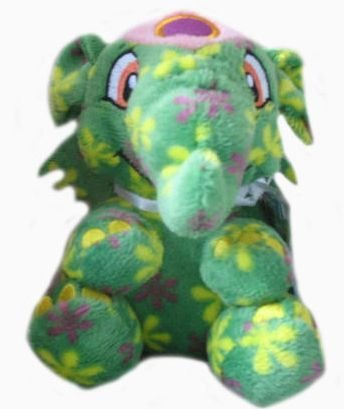 Neopets Series 5 Disco Elephante Plush with Keyquest Code - 1