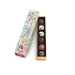 Godiva Chocolate Limited Edition Valentine\'s Day Truffles - 6 Piece