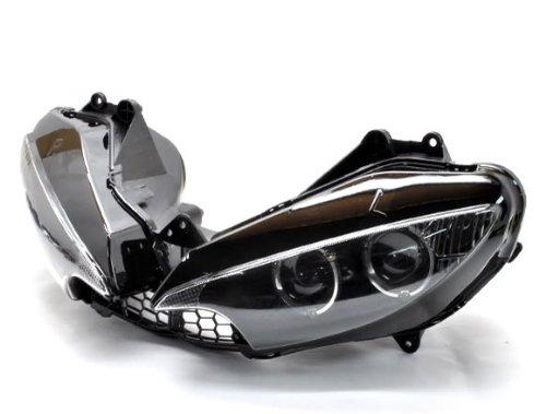 Led Scheinwerfer Lampengehäuse Motor Accessoriess Rauch Motorrad HID Signal Fit For Yamaha YZF R6 YZFR6 YZF-R6 03-05 / YZF R6s YZFR6s YZF-R6s 06-09