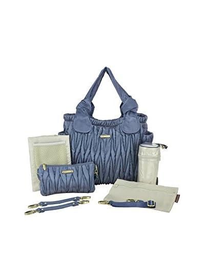 timi & leslie Marie Antoinette 7-Piece Diaper Bag Set, Sapphire