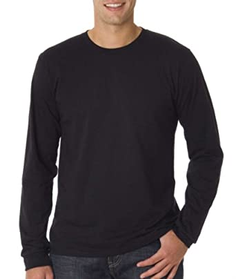 long-sleeve organic T-shirt