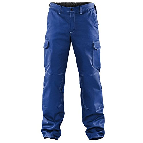Kbler-Cargohose-100-Baumwolle-einfarbig-FarbekornblauGre52