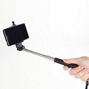 selfie stick selfie stab teleskopstab teleskoparm handy. Black Bedroom Furniture Sets. Home Design Ideas
