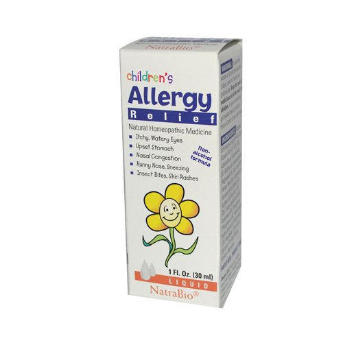 Natrabio Children'S Allergy Relief 1 Fl Oz front-643982