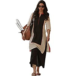 MEGHALYA MultiColor Cotton Printed Semi-stitched Kurti By MEGHALYA(Summer Special)