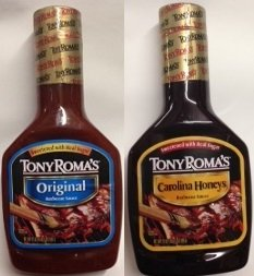 Tony Roma'S Barbecue Sauce Variety Pack, 5 Original & 5 Carolina Honeys, 21-Ounce Unit (Pack Of 10)