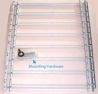 Low Price On John Sterling 8bar Fixed Window Guard 30x24