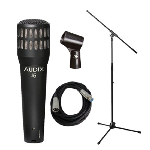Audix I5 Instrument Microphone W Fixed Boom Stand & Cable