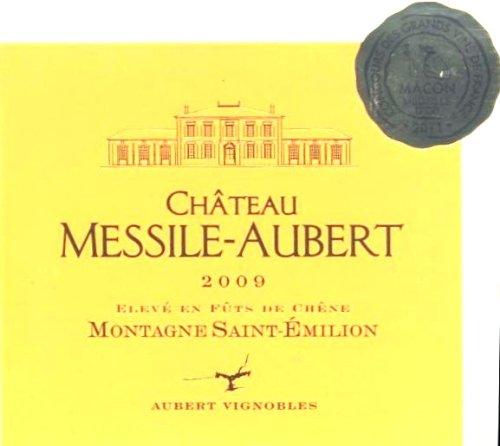 2009 Château Messile Aubert Montagne St-Emilion Bordeax Red 750 Ml