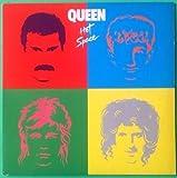 QUEEN Hot Space LP Vinyl VG+ Cover & Orig Slv VG+ 1981 Lyrics E1 60128