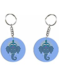 Ganesh Chaturthi Special 2 (Gry Ganesha) Key Chain By Iberrys