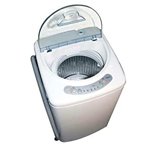 Sedikit Panda Mini Stainless Steel Tumble Dryer5.5-6.6lbs Compact Flat
