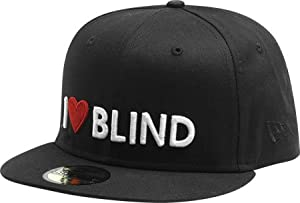 Blind I Heart Blind Cap 7 5/8 [Black] New Era