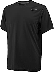Nike Legend Black Short Sleeve Performance Shirt-black-XXL
