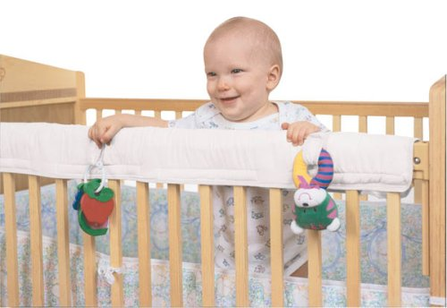 Leachco Easy Teether - Crib Rail Cover - Ivory