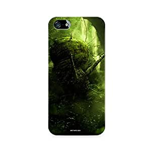 Motivatebox - Apple Iphone 4/4s Back Cover - Greenery Polycarbonate 3D Hard case protective back cover. Premium Quality designer Printed 3D Matte finish hard case back cover.