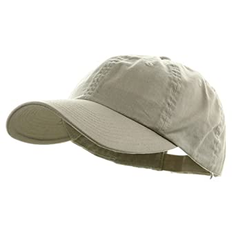 Low Profile Dyed Cotton Twill Cap - Putty W39S55D