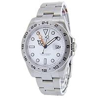 [ロレックス]ROLEX エクスプローラー2 GMT ホワイト Ref.216570 メンズ 【並行輸入品】