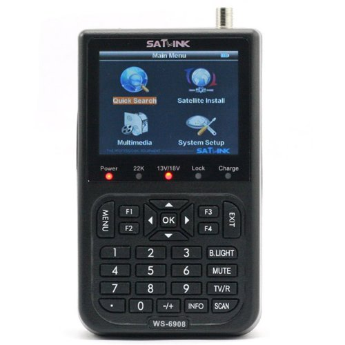 "Bargain SATlink WS-6908 3.5"" DVB-S FTA Professional Digital Satellite Signal Finder Meter by ANLO"