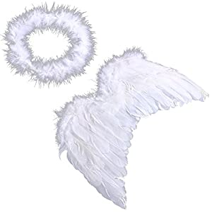 Fashion Lovely Infant Baby Kids Angel Fairy Wing Costume Photo Prop from Ciamlir