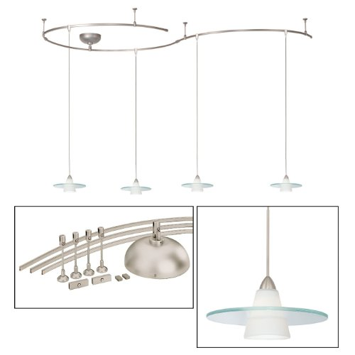 WAC Lighting LMK517WTBN Obo Solorail Track Lighting Kit, White