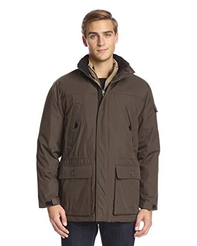 IZOD Men's Systems Three-In One Parka