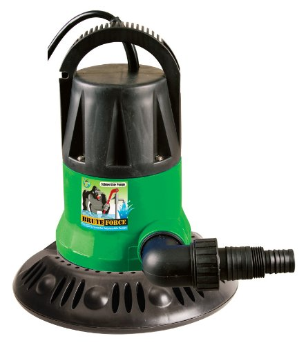 Dirt Defender 1250 GPH In-Ground Pool Winter Cover Pump W