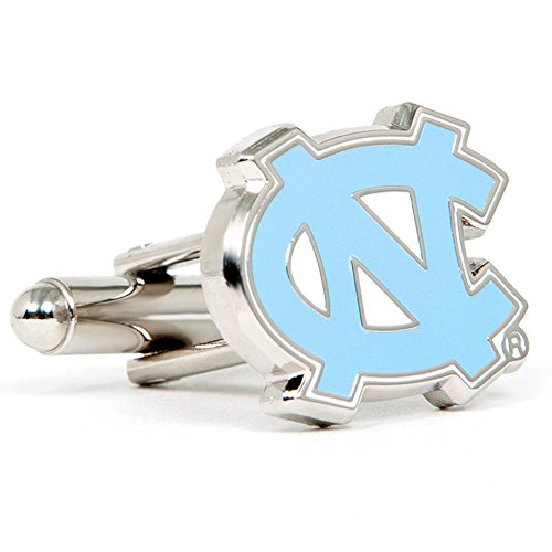 North Carolina Tarheels Cufflinks - NCAA College Athletics Sports Themed Formal Wear