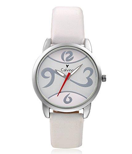 Calvino Calvino Women's White Dial Watch CLAS-1512-OPN-1236_WHT-WHT