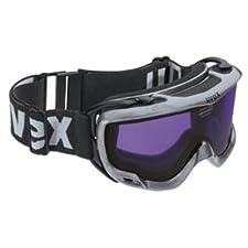 Uvex Downhill II Goggles Ski Snowboard Black Frame/Psycho Lens