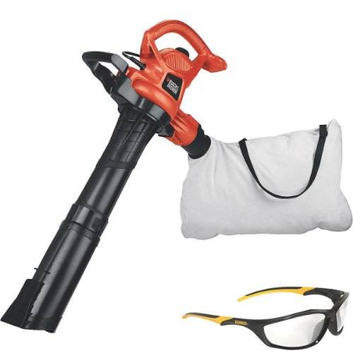 Set Safety Glass With Black & Decker 12 Amp Electric Blower