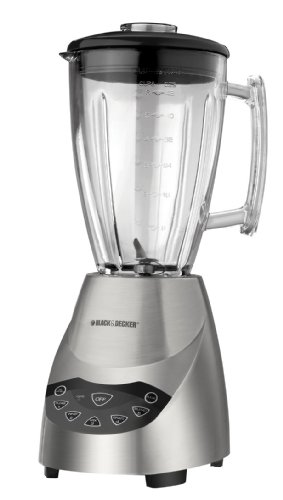 Black & Decker BLT5650 ProBlend Die-Cast Blender with 48-Ounce Glass Jar