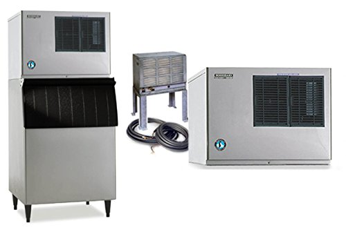 Hoshizaki Comercial Ice Machine Crescent Cuber Low Profile Remote Air-Cooled Condenser Kml-631Mrh