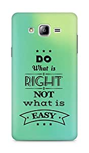 Amez Do what is Right Not what is Easy Back Cover For Samsung Galaxy ON7