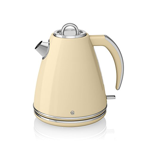 Swan Jug Kettle, 1.5 Litre, 3000 W, Cream
