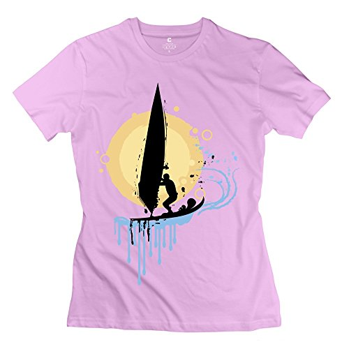Jeff Women Sailing Tee Shirt Pink X-Large