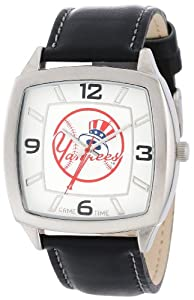 MLB Mens MLB-RET-NY5 Retro Series New York Yankees Top Hat Watch by Game Time