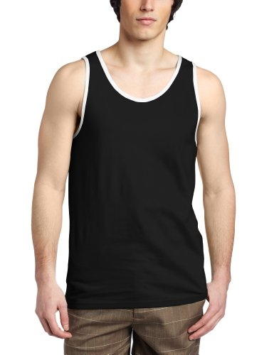 Hurley - Mens Staple Tank Top, Size: Medium, Color: Black
