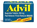 Advil Pain Reliever/Fever Reducer, 200 mg, Coated Caplets 50 caplets