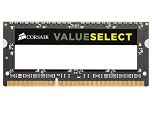 Corsair 4GB (1x4GB) DDR3 1333 MHz (PC3 10666) Laptop Memory (CMSO4GX3M1A1333C9)