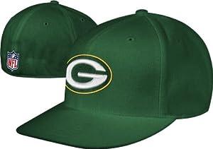 Green Bay Packers Reebok Fitted 7 3 4 NFL Hat Cap by Reebok