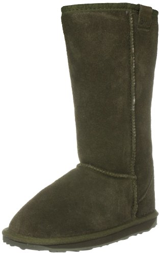 Emu Australia Junior Wallaby Hi Olive Shearling Boot K10101 13 Child UK