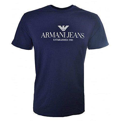 Armani Jeans Stampa t-shirt Blu XXL