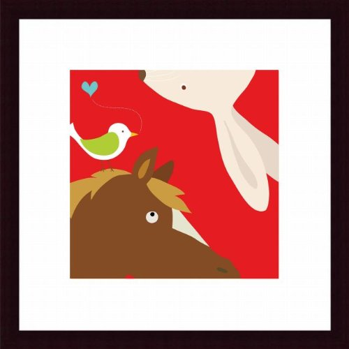 Barewalls Wall Decor by Yuko Lau, Farm Rabbit and Horse