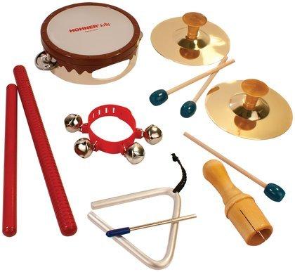 Hohner 6 Piece Rhythm Instrument Set front-938154