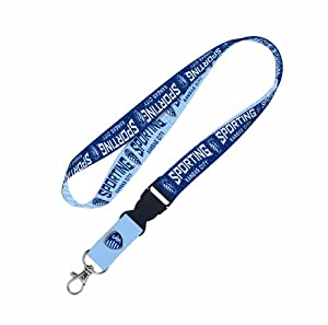 MLS Sporting Kansas City 2 Tone Lanyard with detachable buckle by WinCraft